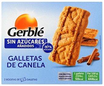 Gerblé Galletas canela sin azúcares añadidos 113 Gramos