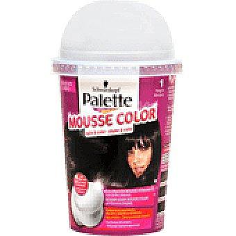 Palette Schwarzkopf Tinte Negro Nº1 Mousse Color 1 UNI