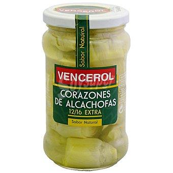 Vencerol Corazones de alcachofa 12-16 piezas Frasco 175 g neto escurrido