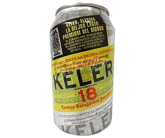 Keler Cerveza Lata de 33 Centilítros