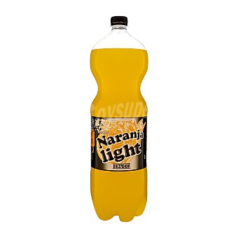 Hacendado Naranja con gas light Botella 2 l