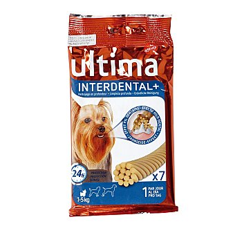 Ultima Affinity Snack complementario para la limpieza profunda de los dientes de perros pequeños 70 gr