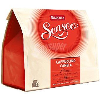 Marcilla Café Capuccino con Canela Senseo paquete 135 g 8 monodosis