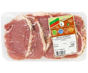 CAMPOGRIL Lomo al ajillo de cerdo adobado extra sin gluten 310 Gramos