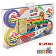 Pasta de modelar Magic Dough, de 14 G Blíster de 8 uds Alpino