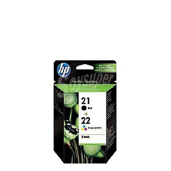 HP Pack Cartuchos de Tinta HP 21/22 - Negro Pack Cartuchos de Tinta 21/22