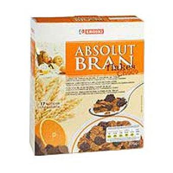 Eroski Bran Flakes chocolateados Caja 375 g