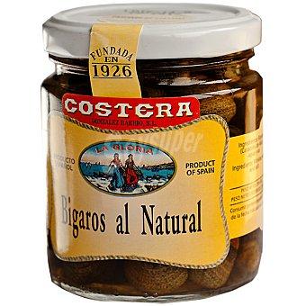 Costera Bigaros al natural Tarro 250 g neto escurrido