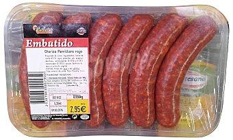 SIETE ISLAS Chorizo parrillero fresco Bandeja 550 g peso aprox. (6 unidades)
