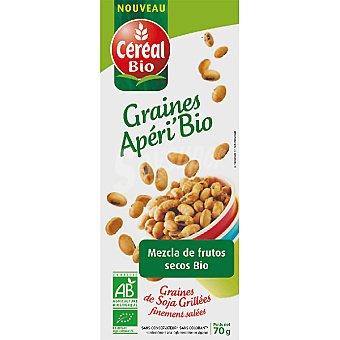 Cereal Bio snack de soja con frutos secos ecológico  envase 70 g