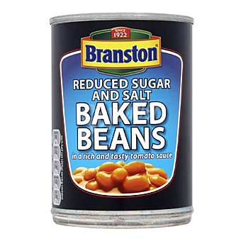Branston Alubias baja en calorías Lata 410 gr