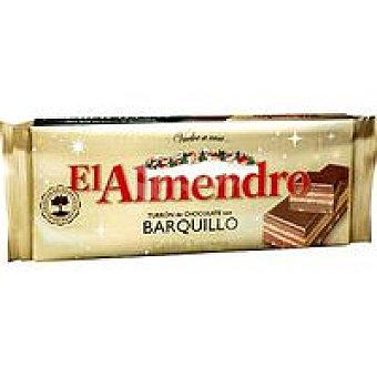 El Almendro Turrón de chocolate-barquillo Caja 300 g