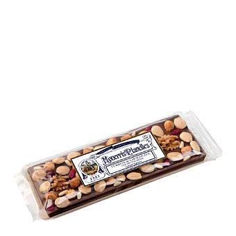 Monerris Panelles Turrón músico de chocolate con frutos secos 300 g
