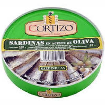 Cortizo Sardinilla en aceite de oliva 25-30 Lata 252 g
