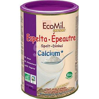 ECOMIL bebida de espelta en polvo instantánea con calcio envase 400 g
