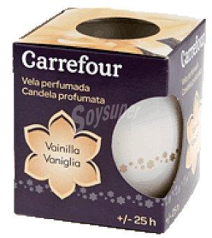 Carrefour Vela perfumada de vainilla 1 ud
