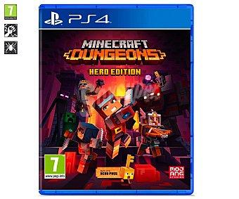 Mojang Minecraft Dungeons Hero Edition para Playstation 4. Género: +7. pegi: +7.