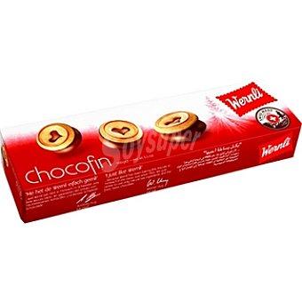 WERNLI Chocofin Galletitas rellenas de chocolate Estuche 100 g