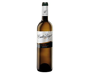 Cuatro Rayas Vino Blanco de Rueda Sauvignon Botella 75 Centilitros