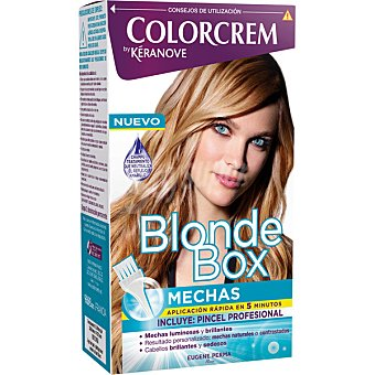 Colorcrem Kit Blonde Box Mechas incluye pincel  Caja 1 ud