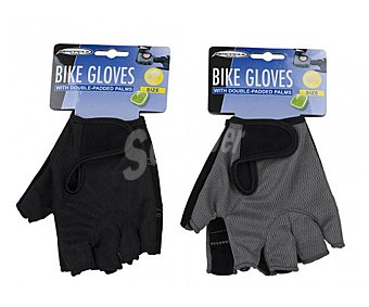 Bicycle gear Par de guantes talla S, tela especial para ciclismo, color negro gear
