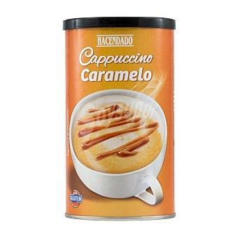 Hacendado Cafe soluble cappuccino caramelo Bote 250 g