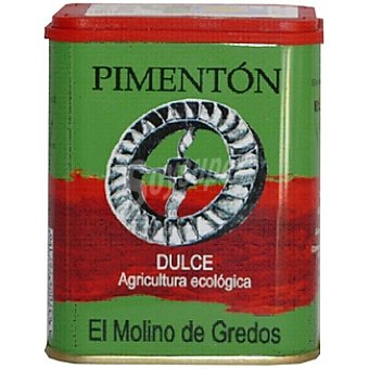 EL MOLINO DE GREDOS Pimentón dulce de agricultura ecológica Lata 70 g