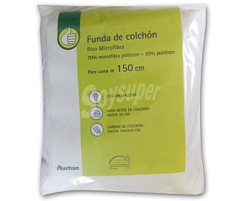 Productos Económicos Alcampo Funda 150 centímetros de microfibra, 30 centímetros de alto 1 Unidad
