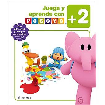 Cuaderno de actividades Juega y aprende con Pocoyó +2 años