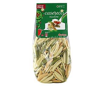 Auchan Pasta Casereccis con espinacas y tomate Paquete de 500 gr
