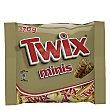 Barrita de chocolate y galleta rellena de caramelo mini 200 g Twix