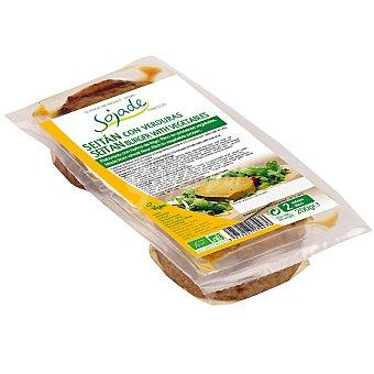 SOJADE seitán con verduras ecológico  envase 200 g