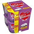 Yogur desnatado 0% materia grasa, natural edulcorado Pack 8 u x 125 g Vitalínea Danone