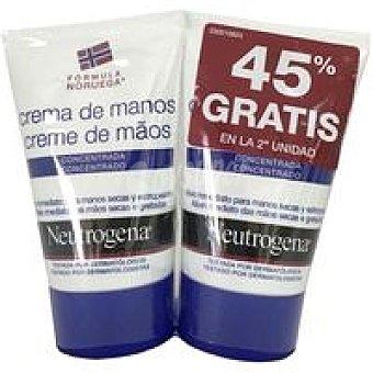Neutrogena Duplo crema de manos concentrada Pack 2x50 ml