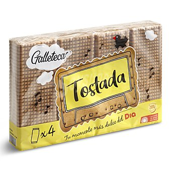 DIA Galletas tostadas galleteca Paquete 800 gr