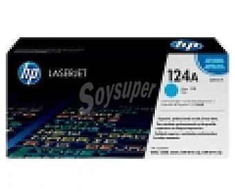 HP Toner 124A, Magenta, compatible con impresoras: Color laserjet 2600N / 1600 / 2605 / 2605dn / 2605dtn / CM1015 MFP / CM1017 MFP / 260NSE.