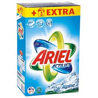 Ariel Actilift detergente máquina polvo alpine maleta 37 + 3 cacitos 37 + 3 cacitos