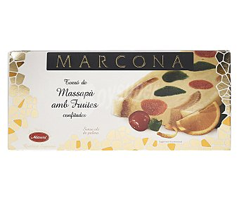 Marcona Turrón de mazapán con frutas 250 g