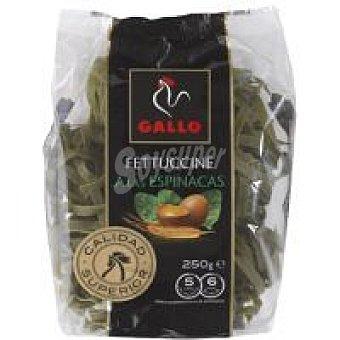 Gallo Fettuccine de espinacas Paquete 250 g