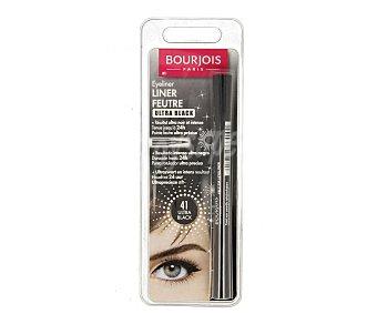 Bourjois Paris Eyeliner con punta rotulador ultra precisa nº 41 (resultado intenso ultra negro) 1 unidad