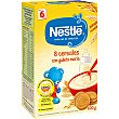 Papilla en polvo con 8 cereales y galleta a partir de 6 meses Caja 600 g Nestlé