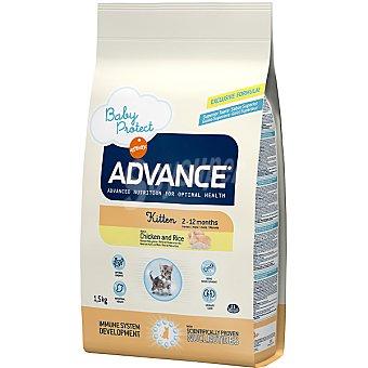 Advance Affinity Alimento de alta gama para gatitos y hembras gestantes rico en pollo Kitten Bolsa 1,5 kg