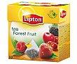 Infusión de Frutas del Bosque sin cafeína 20 ud Lipton