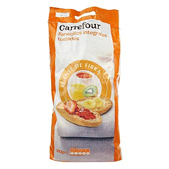 Carrefour Barritas tostadas integrales con fibra 800 g