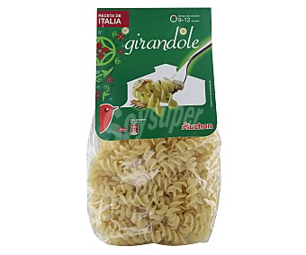 Auchan Girandoles, pasta de sémola de trigo duro de calidad superior 500 Gramos