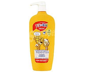 Rik&Rok Auchan Gel y champú de baño o ducha, aroma melocotón y albaricoque 750 mililitros