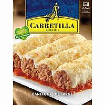 Carretilla Canelones de carne Bandeja 375 g