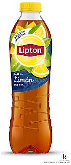 Bebida refrescante de té al limón 1 l