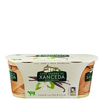Casa Grande de Xanceda Yogur cremoso ecológico con vainilla Pack 2x125 g