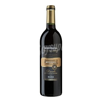 Berberana Vino D.O. Rioja tinto reserva D´avalos etiqueta negra 75 cl